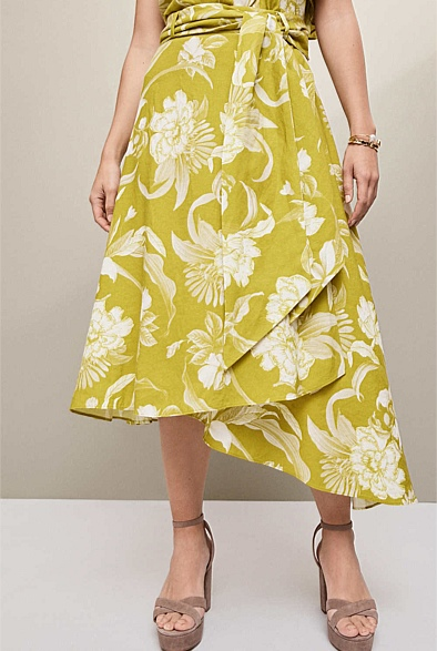 Ipanema Printed Skirt