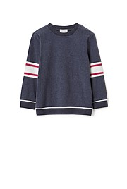 Longsleeve Stripe Sleeve Top