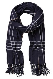 Midnight Check Scarf