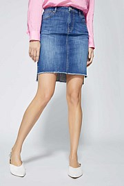 Indigo Denim Pencil Skirt