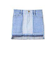 Shadow Denim Skirt
