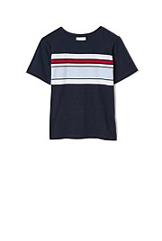 Placement Stripe Tee