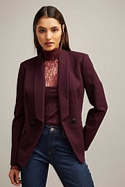 Shawl Double Breasted Blazer