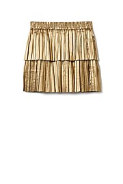 Two Tier Pleat Skirt