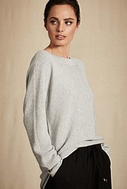 Dolman Open Neck Knit