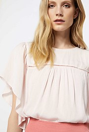 Soft Frill Sleeve Top