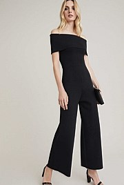 Fold Over Knit Jumpsuit