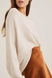 Dolman Stitch Knit
