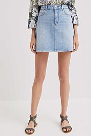 Abby Denim Skirt