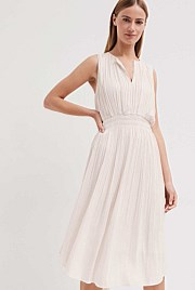 Fine Pleat Dress