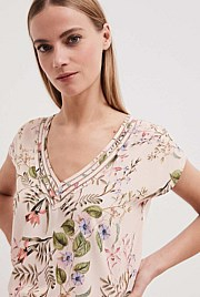 Print Trim Detail Top