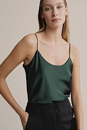 Silk Scoop Neck Camisole