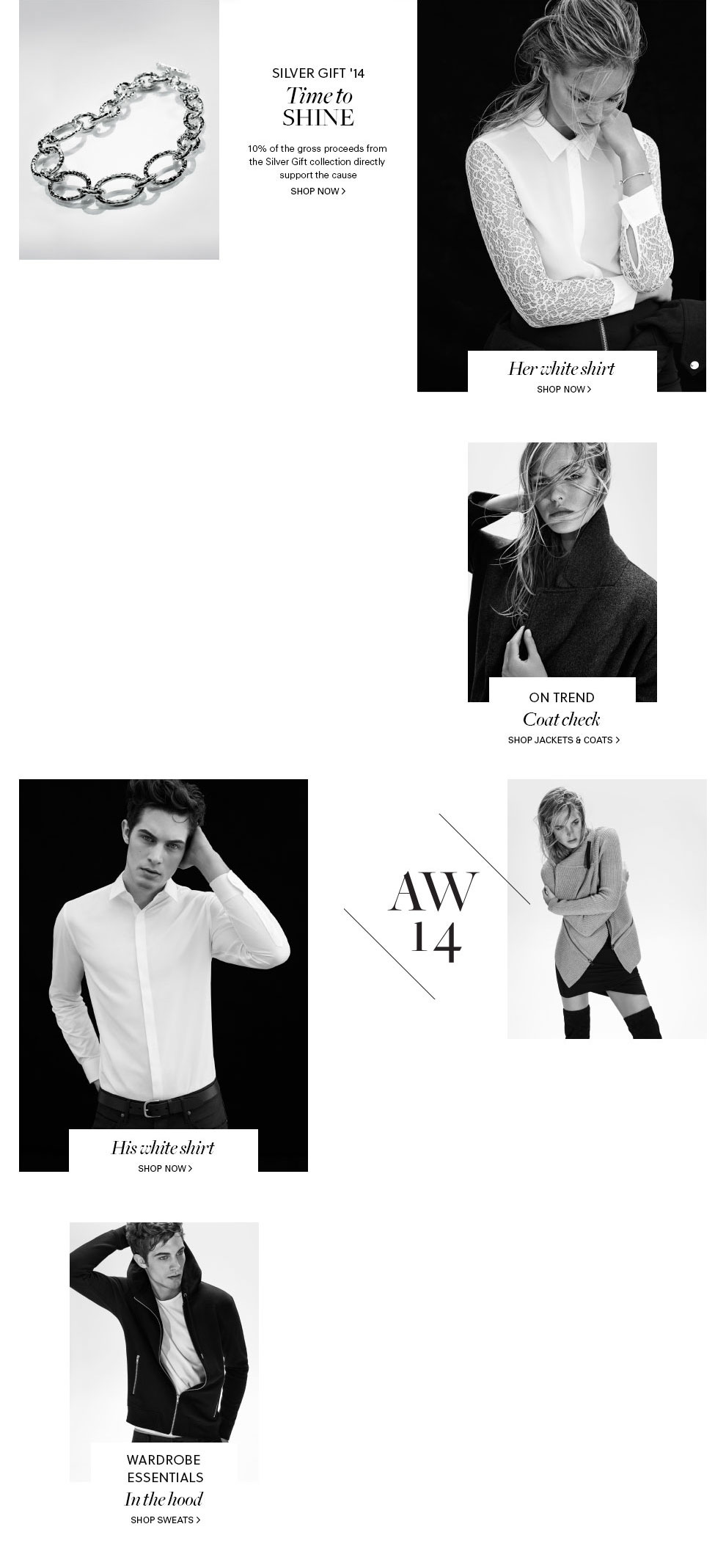 Autumn Winter 2014 Shop the latest womens, mens & kids fashion online at Witchery