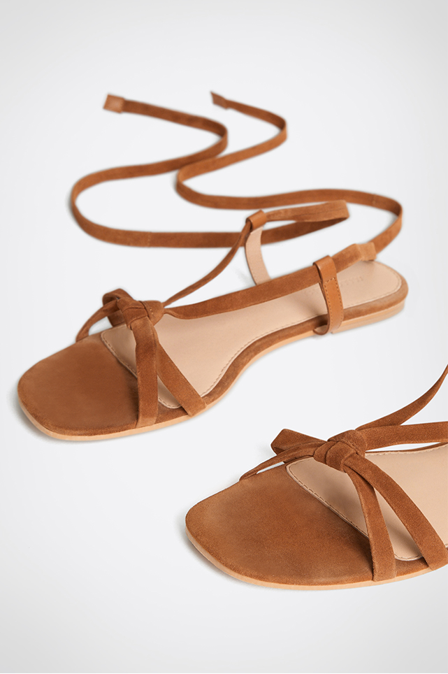 Willa Suede Sandal