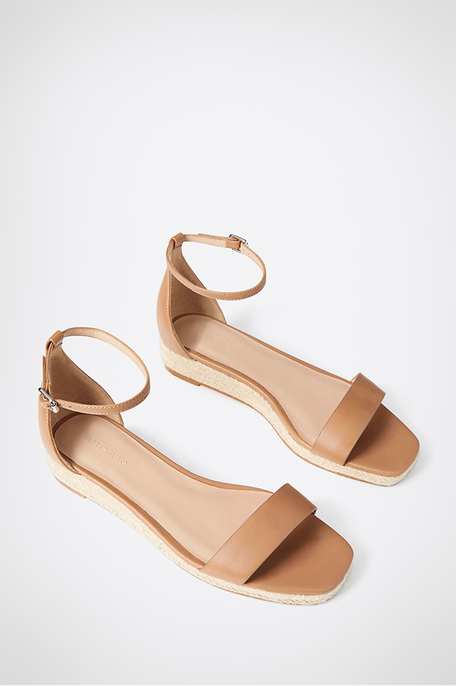 Carrie Wedge Sandals