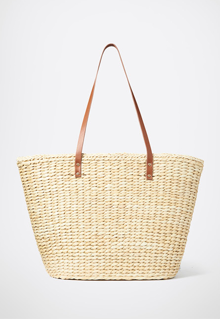 Val Straw Tote