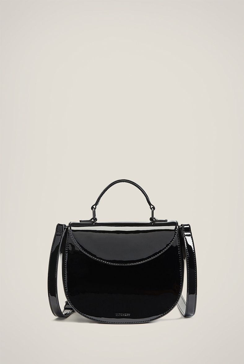 Ava Top Handle Bag Black