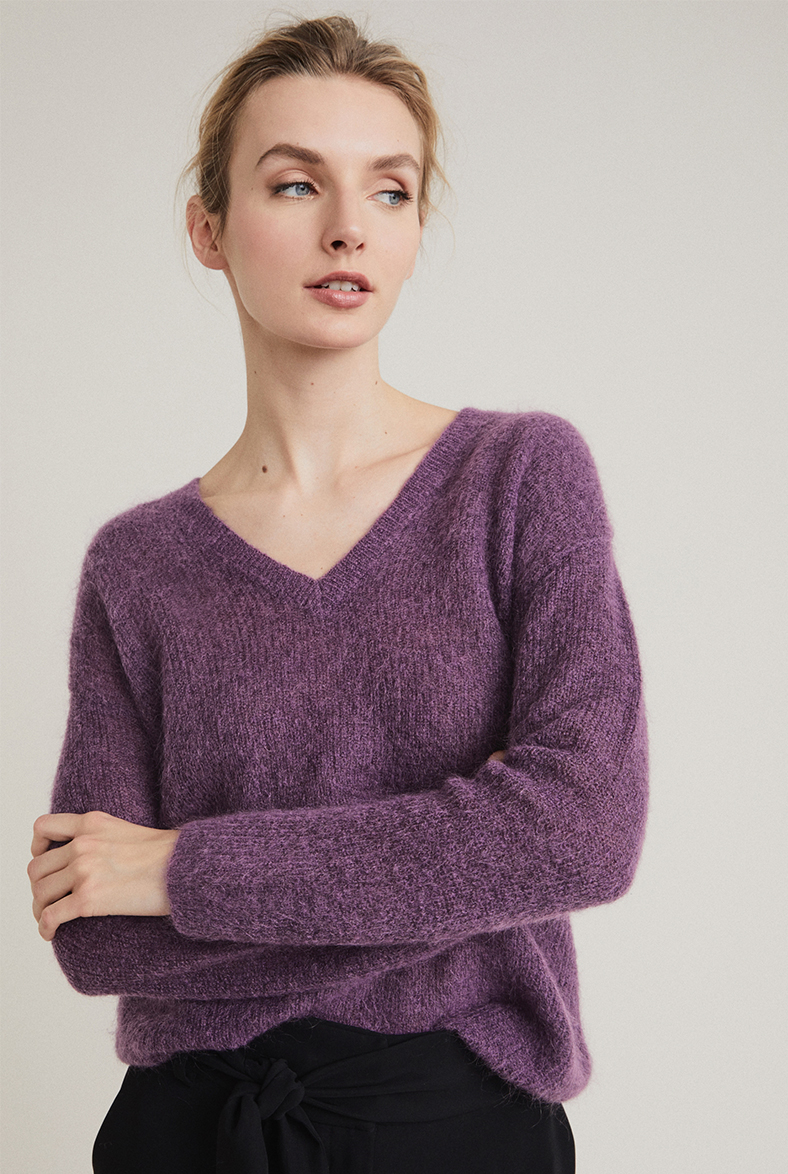 Lofty V Neck Knit