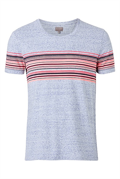 Sunrise Stripe Tee