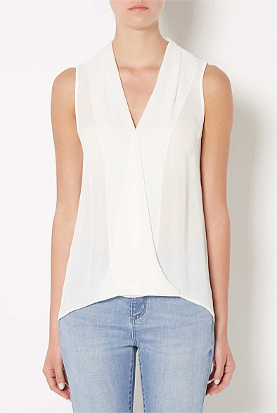 Soft Cross Over Blouse