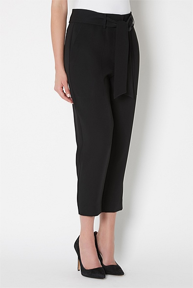 Belted Tailored Pant