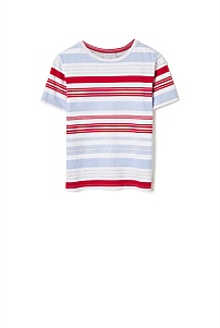 Varied Stripe Tee