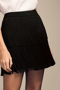 Ines Layer Fringe Skirt