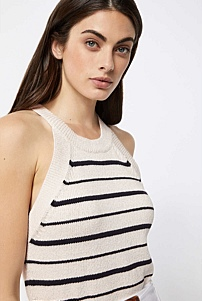 Striped Knit Tank